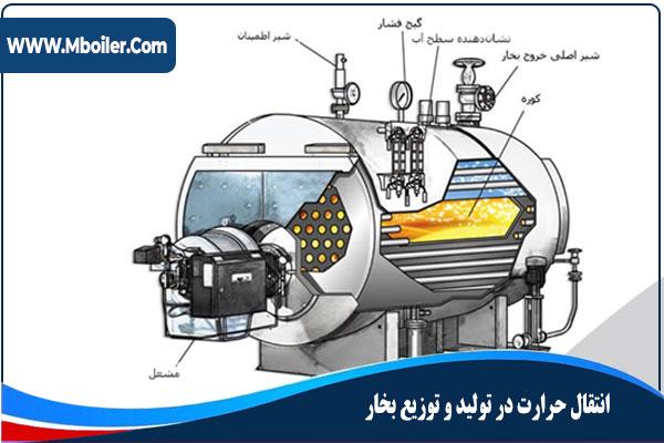 انتقال حرارت در توليد بخار