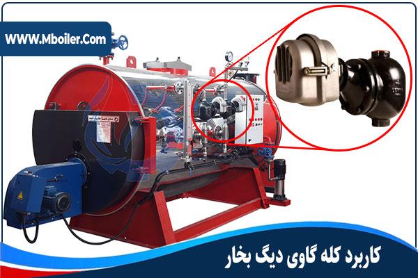 کاربرد کله گاوی (لول کنترل) در دیگ بخار