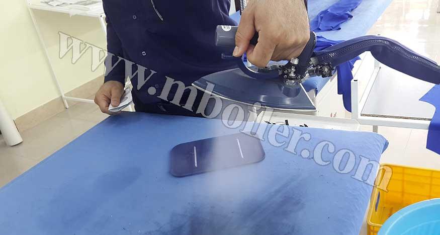 استفاده از بخار در صنعت پوشاک