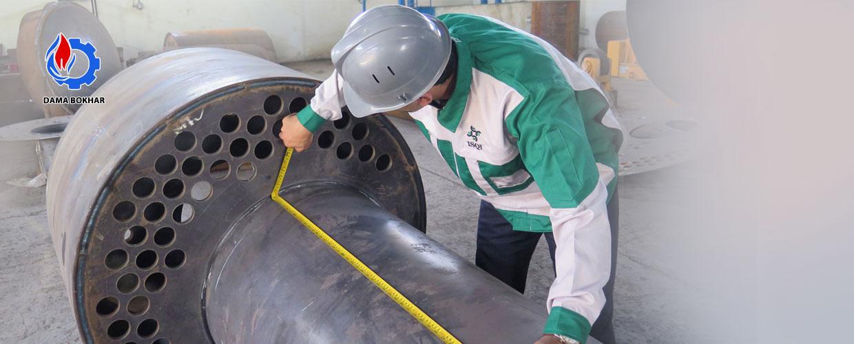 بازرسی دیگ بخار و آب داغ و مخازن تحت فشار